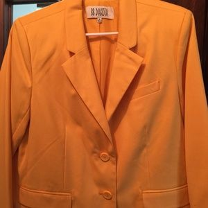 Sunflower Yellow Lightweight BB Dakota Blazer SzL